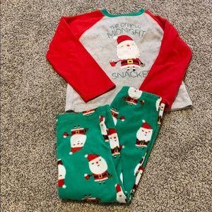 Carter's Christmas pjs